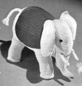 Amigurumis: Elefante de crochet paso a paso - Tutoriales Patronarte   300x284