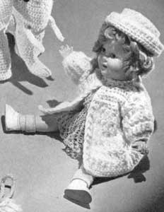 Free Knitting Patterns For American Girl Dolls -Cape