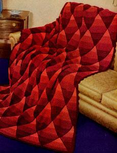 CROCHET DIAMOND SQUARE AFGHAN PATTERN Crochet Patterns