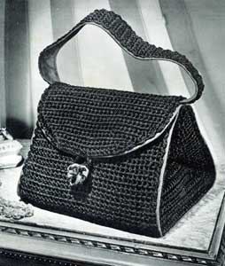 Free Vintage Crochet Bag Pattern : Bag No. 2793 Crochet Patterns