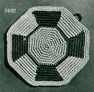 Free Crochet Pattern - Octagon Baby Afghan from the Baby blankets