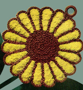 Rose Potholder | Crochet Patterns - Get Started Crocheting