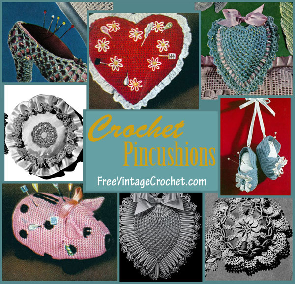 crochet pincushion patterns