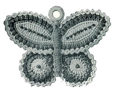 Butterfly Filet Crochet - Charts 7-9 | Free Filet Crochet