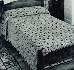 Irish Melody Bedspread Pattern 6051 Crochet Patterns