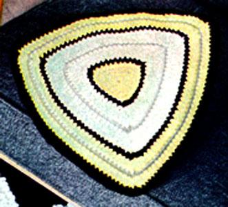 Super Saver Crochet Triangle Shawl | AllFreeCrochet.com