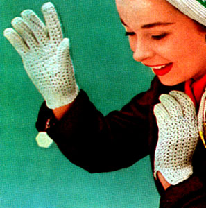 Crocheted Gloves Crochet Patterns