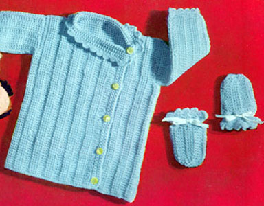 Classic Jackets, Coat Pattern to Crochet from Fiber Images