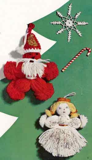 Best Free Crochet » Christmas Candy Cane Bib – Free Crochet Pattern
