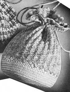 Free Vintage Crochet Bag Pattern : Bag Pattern Crochet Patterns
