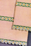 daisy pillow case and sheet  edging and insertion pattern