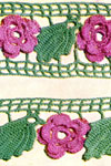 rose edging and insertion pattern