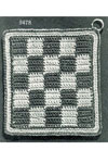 checkerboard potholder