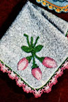 rosebud washcloth edging pattern