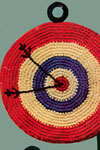 bulls eye potholder
