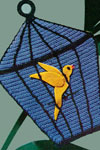 bird cage potholder