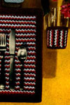 navajo place mat and glass jacket pattern