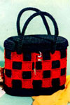 checkerboard bag