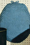aqua toilet seat cover pattern