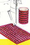 Rug and Basket Cover pattern