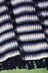 shaded stripes afghan