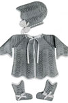 Knitted Baby Set pattern