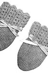 Infants Crochet Mittens pattern