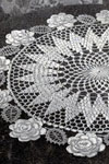 rose circle doily pattern
