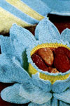 water lily nut cup pattern