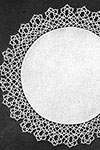 Tatted Doily 7082