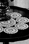 Star Wheel Doily pattern