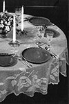 Round Table Tablecloth pattern