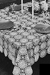 Lucky Star Tablecloth pattern
