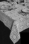 American Beauty Tablecloth pattern