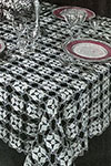 Crystal Web Tablecloth pattern