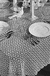 Snowdrift Tablecloth pattern