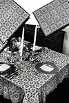 Fancy Free Tablecloth pattern