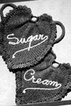 sugar and cream potholders