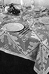 First Lady Tablecloth pattern
