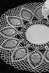 Palm Fronds Doily pattern