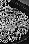 Flowering Pine Doily pattern