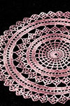 Spider Web Doily Set pattern