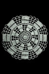 crooked ladder doily