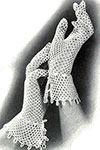 Lattice Loop Gloves pattern