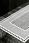Lacet Table Runner pattern
