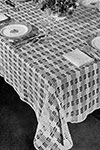 Moderne Mesh Tablecloth pattern