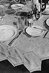 Hexagonal Tablecloth pattern