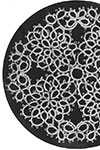 tatted doily 8158