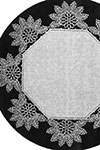 tatted doily 8182
