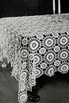 Star Wheel Tablecloth pattern version 2
